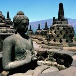 Borobundur- the largest Buddha temple in Indonesia