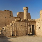 Living King's temple of Edfu