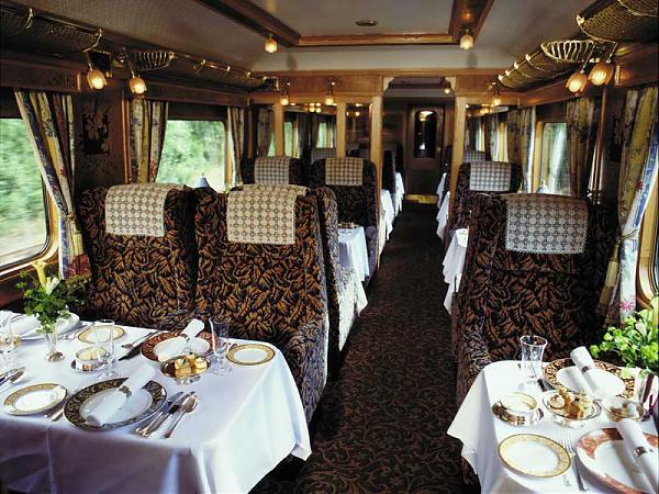 Orient express luxury train