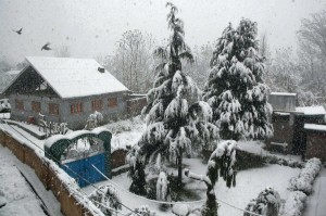 Srinagar in Winter