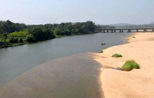 Bharathapuzha River in Palakkad