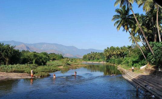 Kalpathy River in Palakkad
